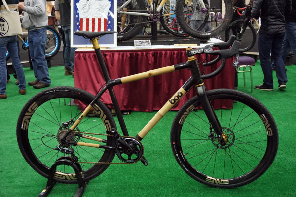 Boo Bicycles SLG carbon and bamboo race-ready gravel road bike