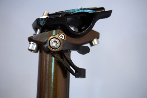 Marzocchi Espresso Dropper seatpost first look and tech details