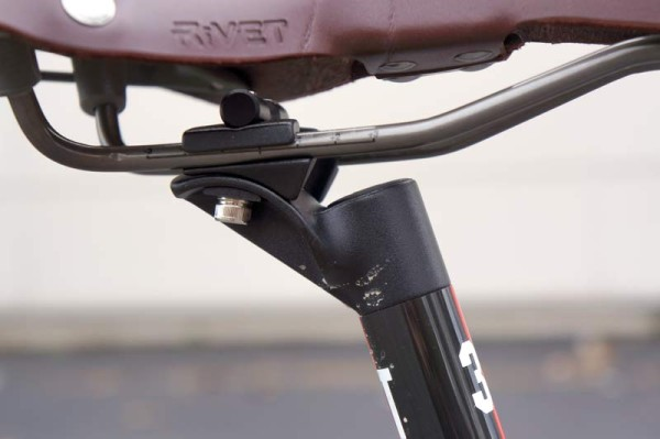 Van Dessel WTF project bike with 3T Stylus Team carbon seatpost review