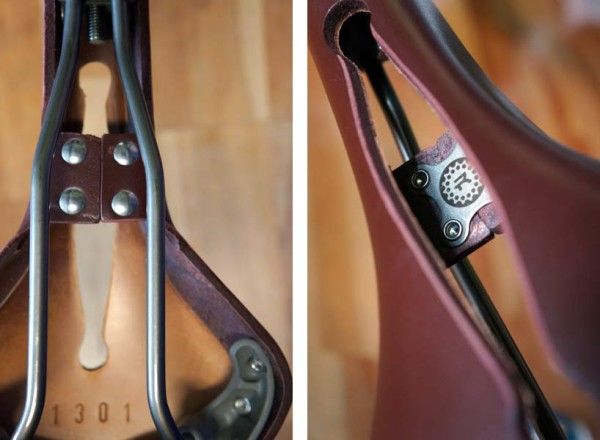 Van Dessel WTF project bike with Rivet leather bicycle saddle review