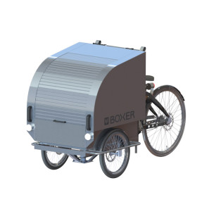 Boxer cargo trike, front view