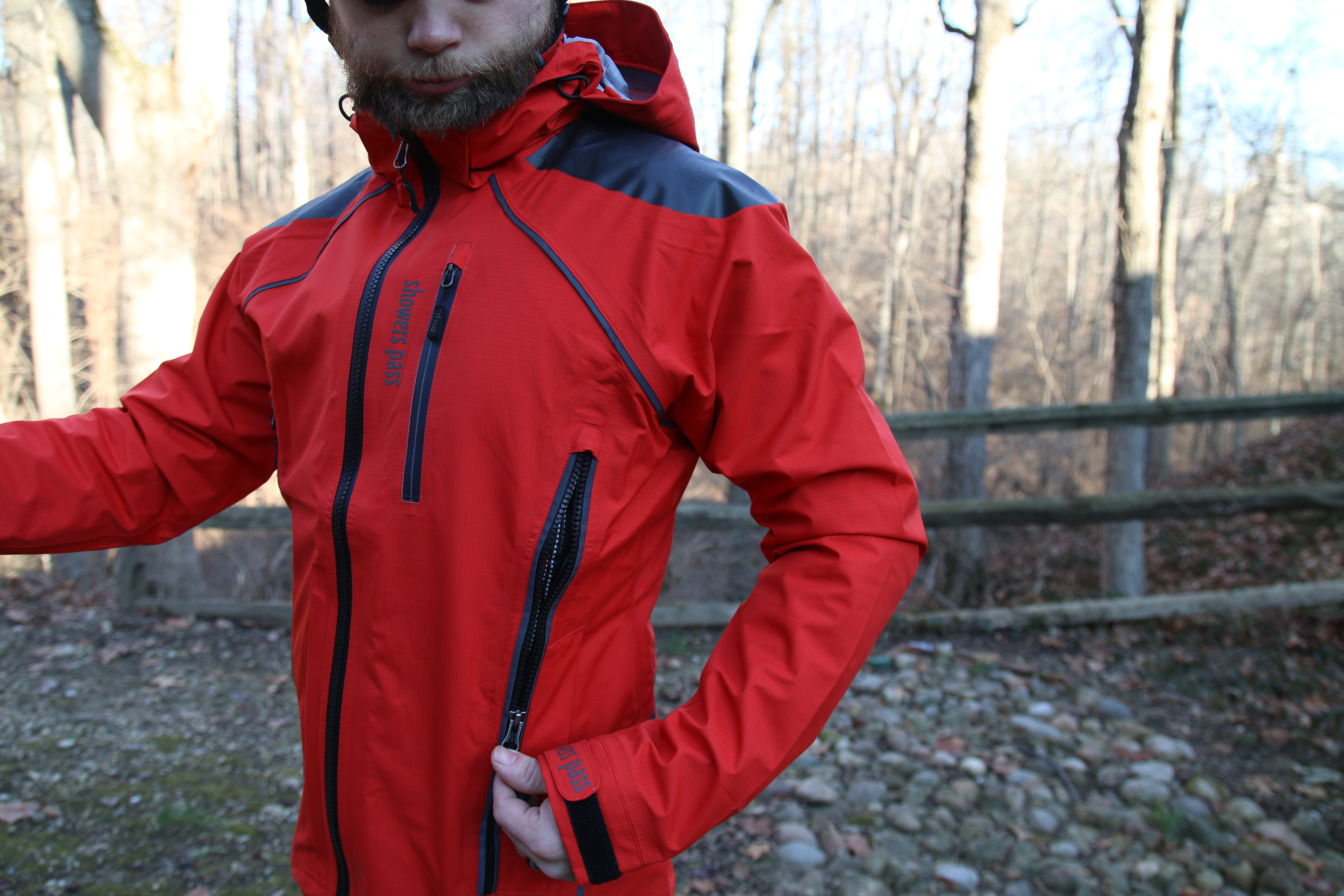 Review Showers Pass Refuge Rain Jacket And Body Mapped