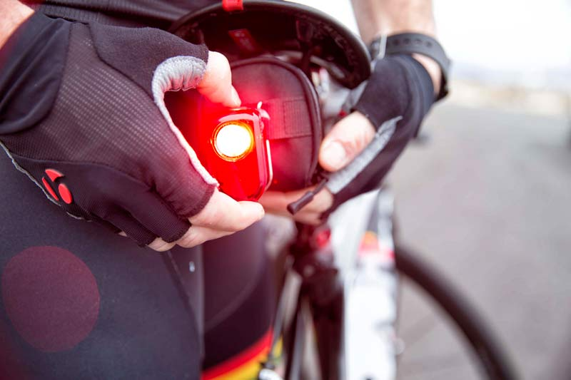 New Bontrager Flare Tail Light Flashes Extra Bright For