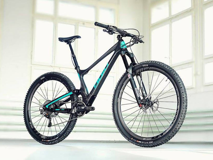 Found Bold Cycles Linkin Trail Full Suspension Concept Hides The