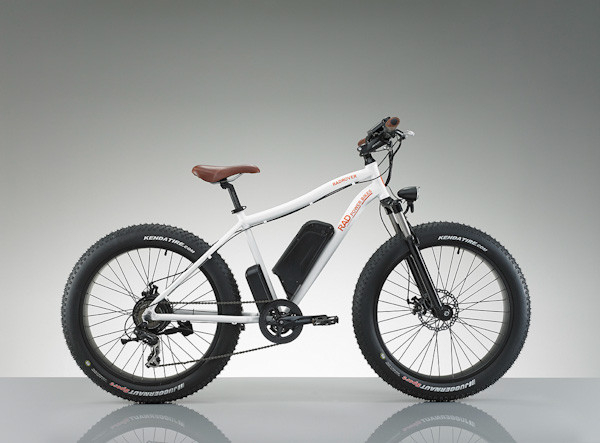 Rad Rover electric fatbike, side view