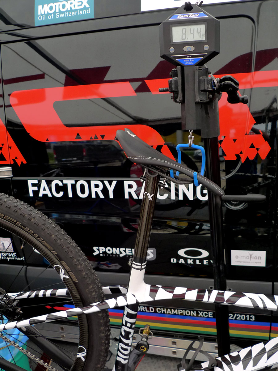 Spy Shots New Ghost Lector World Cup Carbon Hardtail