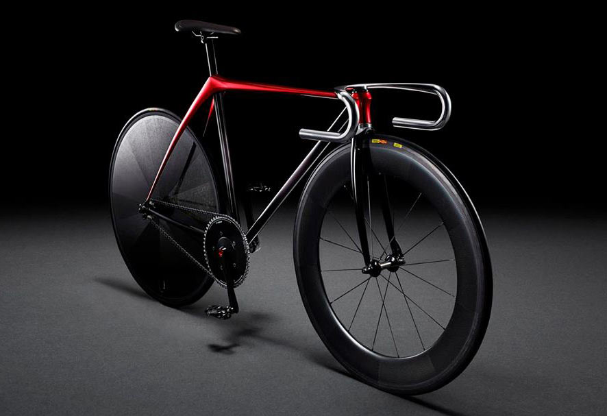 Mazda Unveils Minimalist Track Bike At Milan Design Week