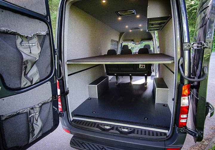 New 2015 Mercedes Sprinter diesel 4x4 is the dream vehicle ...