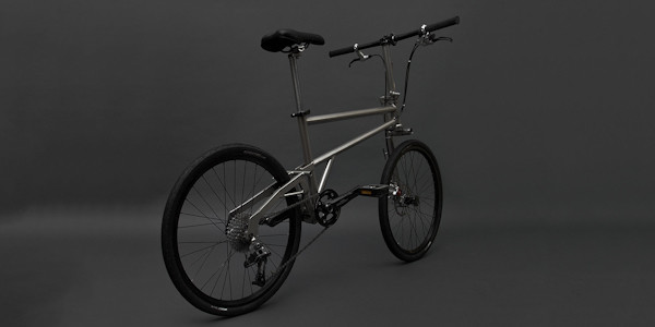 Helix Folding Bike, rear view