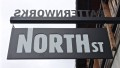 North St. Bags Sign