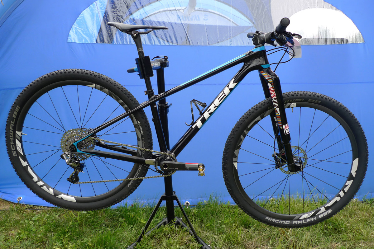 World Cup XC, Pro Bike Check: Unior Tools Team Trek Superfly of ...