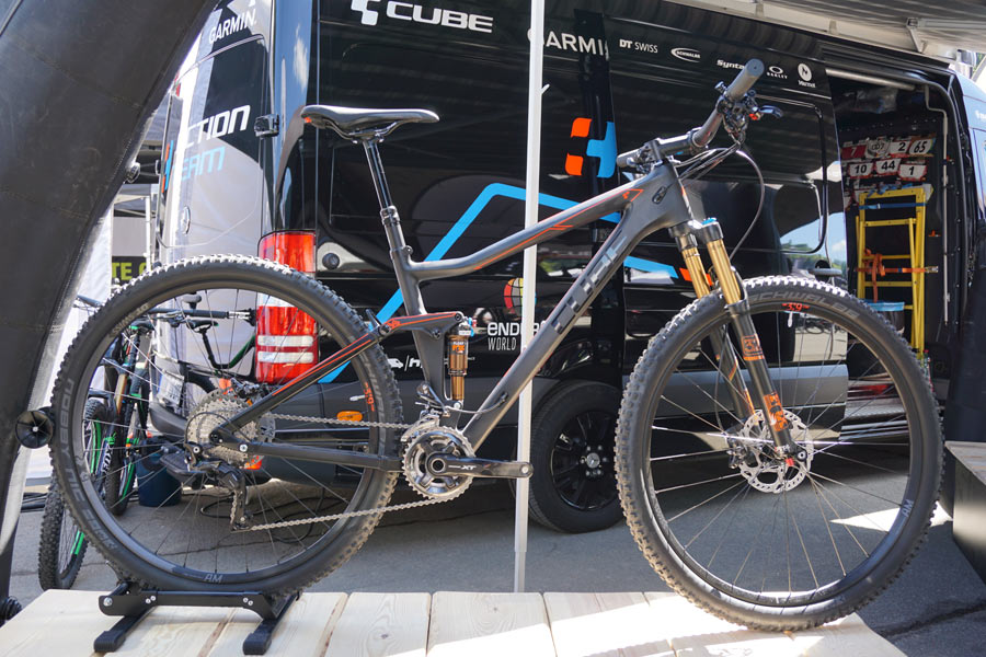 2016 Cube Mountain Bikes Upgraded Carbon Stereos Prototype Fat