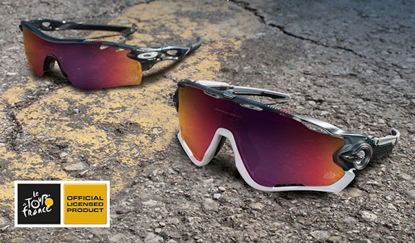 04ef74f0d140f5 Oakley s 2015 Tour de France Collection Protects on and off the Bike ...