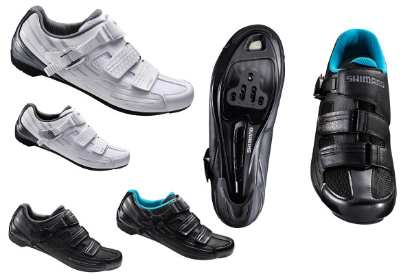 Shimano RP 3 mens womens road shoe