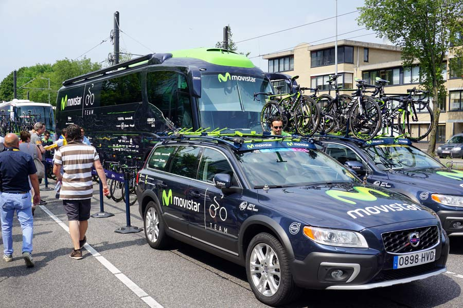 TDF2015 Tech: What's inside the team cars, plus Team Sky's prototype Jaguar F-Pace SUV - Bikerumor