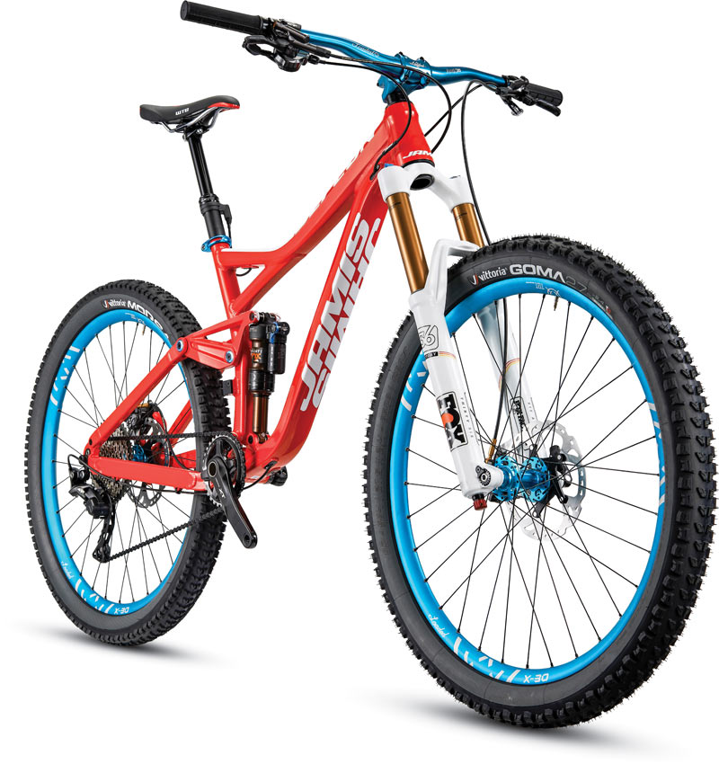 Jamis Attacks Enduro With New Defcon Full Suspension Mountain