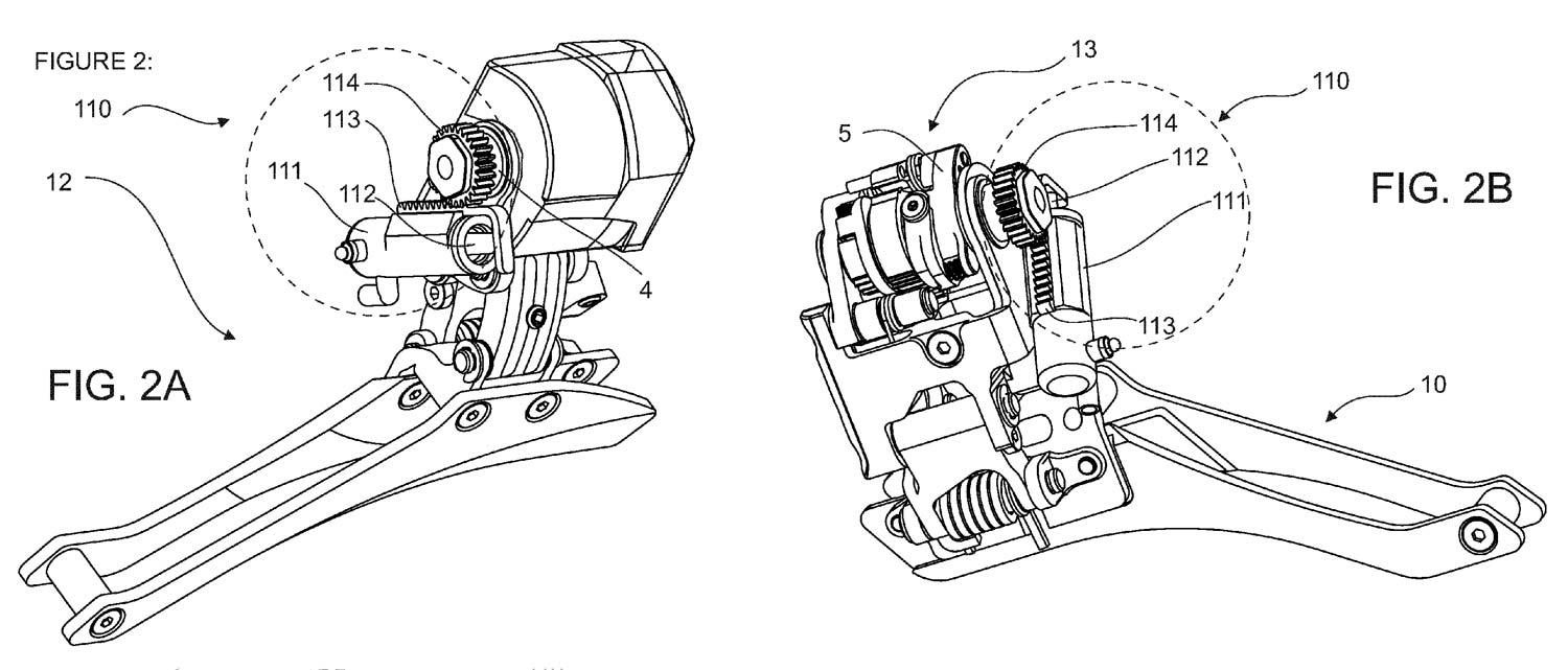 rotor patent application shows single