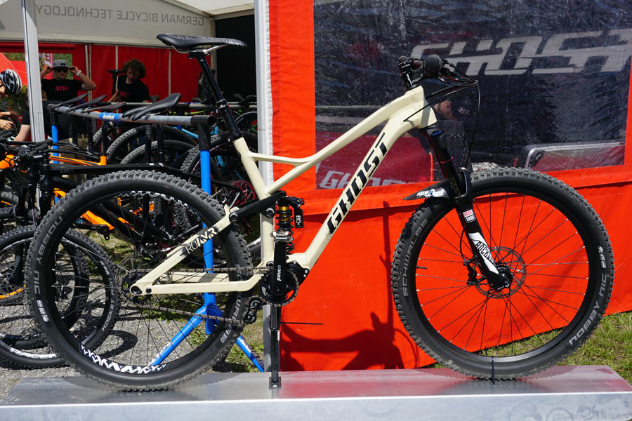 EB15: Ghost Bikes goes overland (and overboard?) w/ new RO-AMR, plus ...