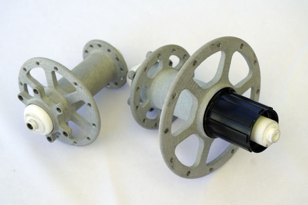 Alto Velo disc brake hubs for super stiff road and cyclocross wheels