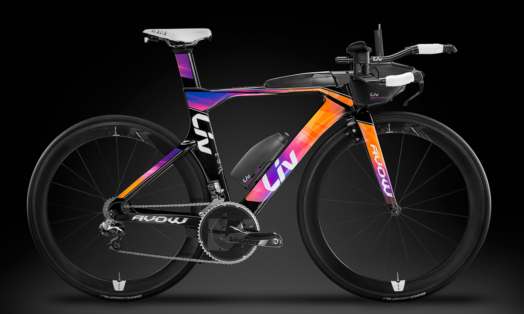 Liv Avow Advanced First Performance Tri Bike Specifically