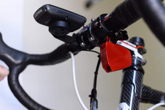 Power Meter Cycling : Velocomp powerpod puts a g powermeter on your handlebar