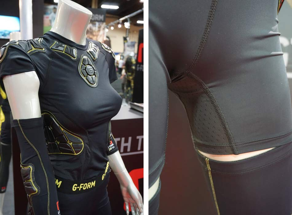 g-form ventilates full body armor  adds women u0026 39 s specific protection and saves the m u0026ms
