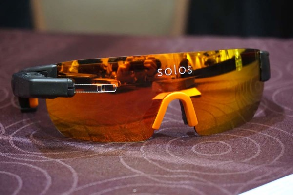 Kopin Solos heads up display cycling sunglasses