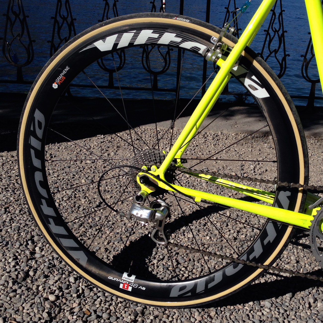 Exclusive First Ride Vittoria Corsa Tires And Qurano