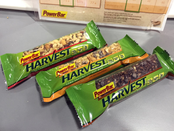 powerbar harvest snack bars are now gluten free