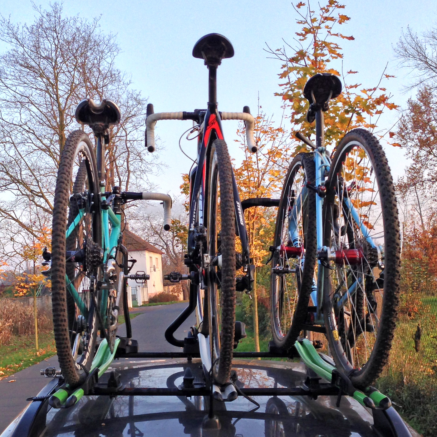 Review Thule Proride Upright Roof Mounted Bike Carrier
