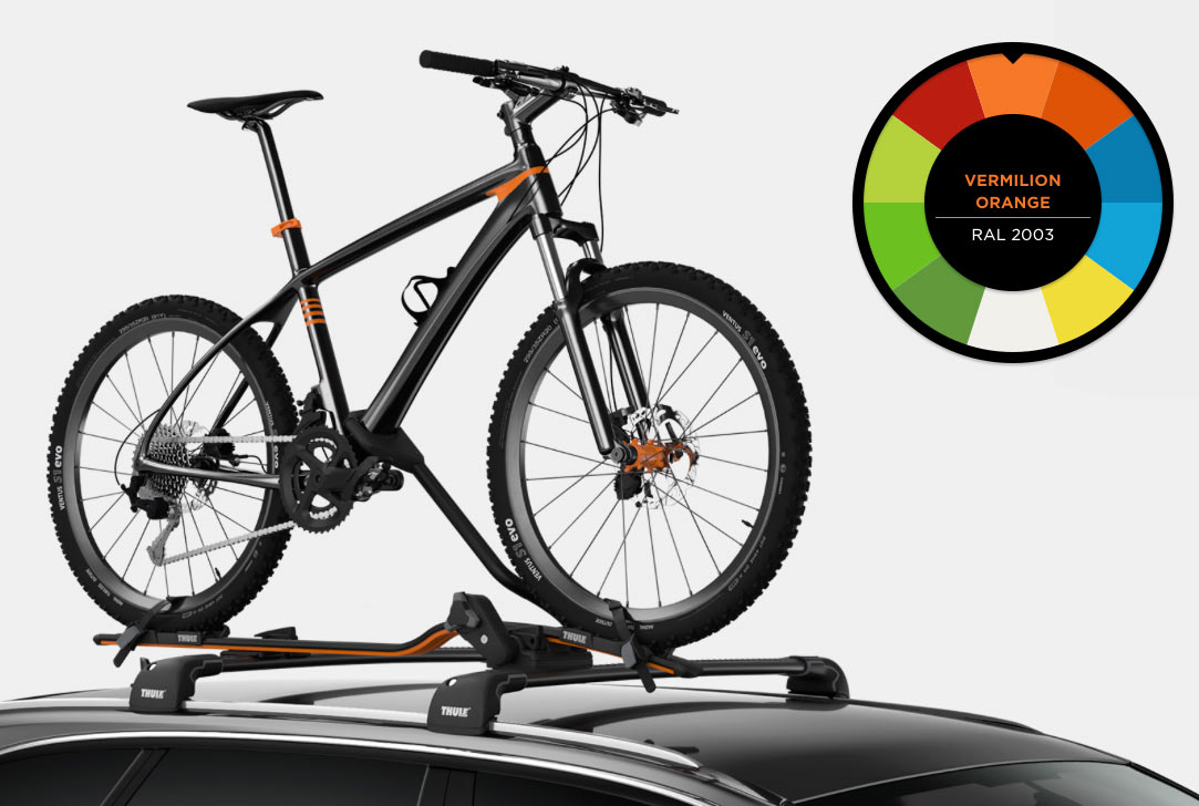 Thule Proride 598 roof rack available in limited colors ...