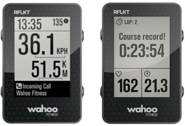 Wahoo RFLKT cycling computer monitor now gets call and text alerts