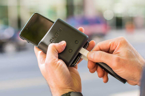 AMPY MOVE charges gadgets on the go with the movement of ...