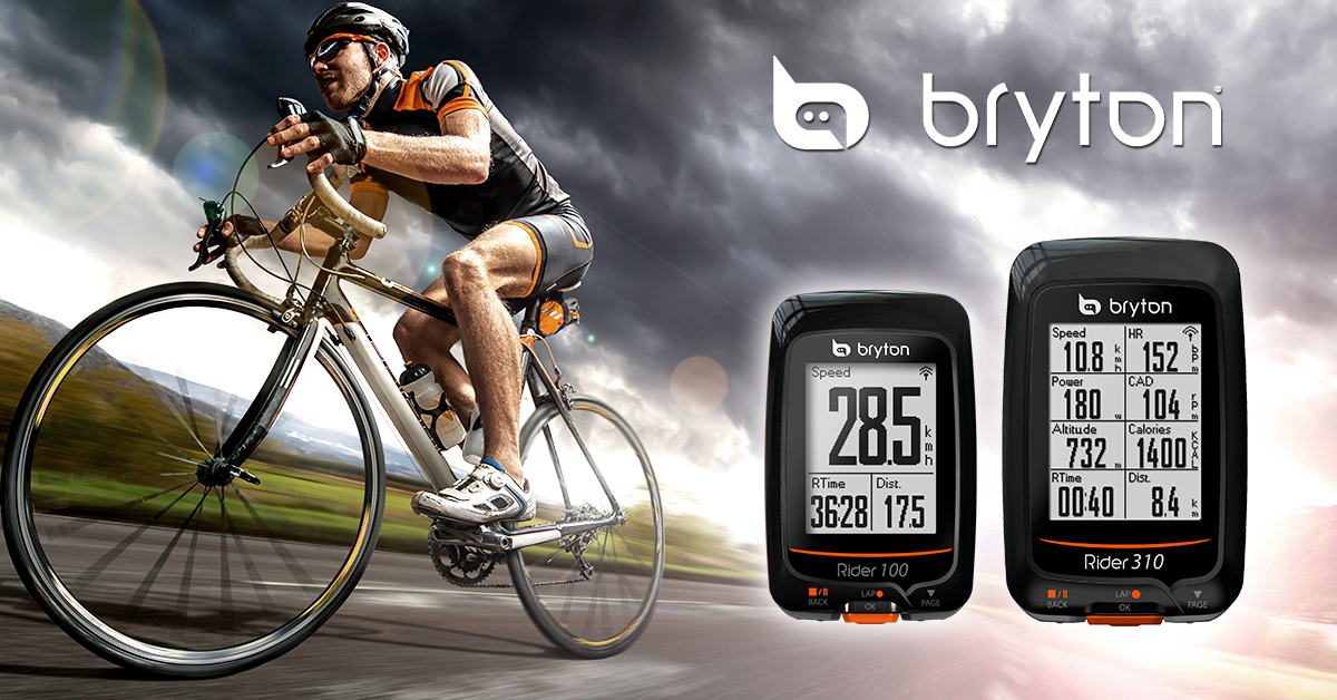 Bryton makes GPS tracking simple with Rider 100 & 310 ...