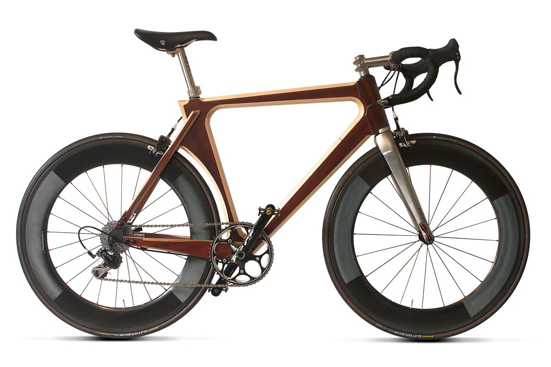 Selva handcrafted wooden bikes from the heart of Europe - Bikerumor