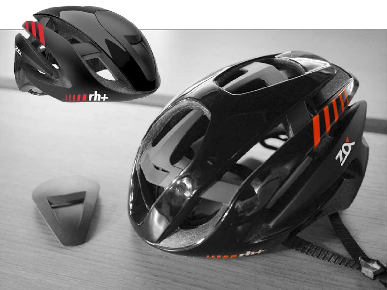 Rh Gets Aero And Stays Cool With Z Alpha Road Helmet