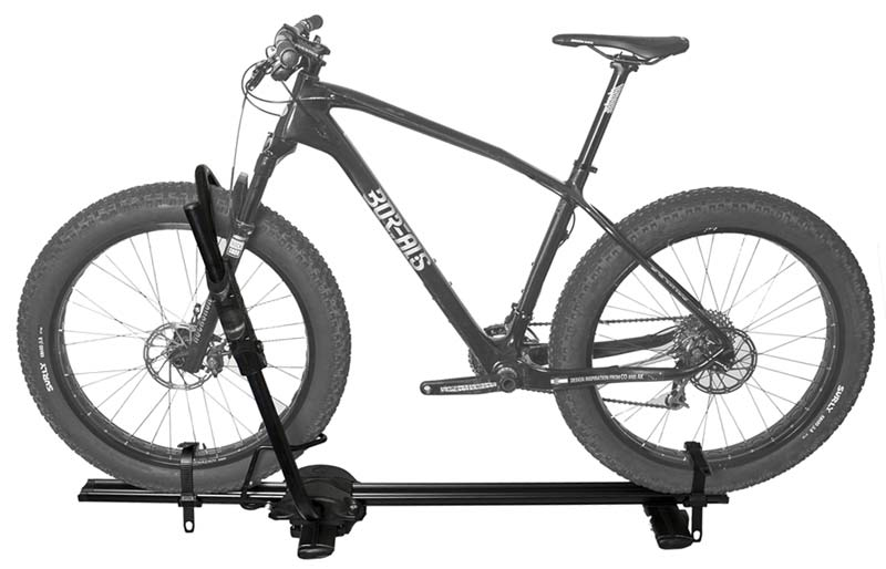 Rockymounts Tomahawk Roof Tray Bike Rack Takes All Comers Fat Or