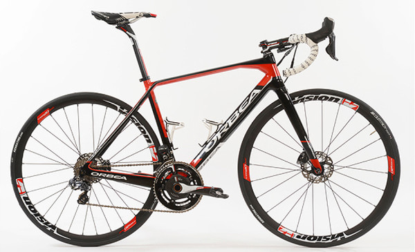 2016 Orbea Orca Disc brake road bike exclusively for Team Cofidis