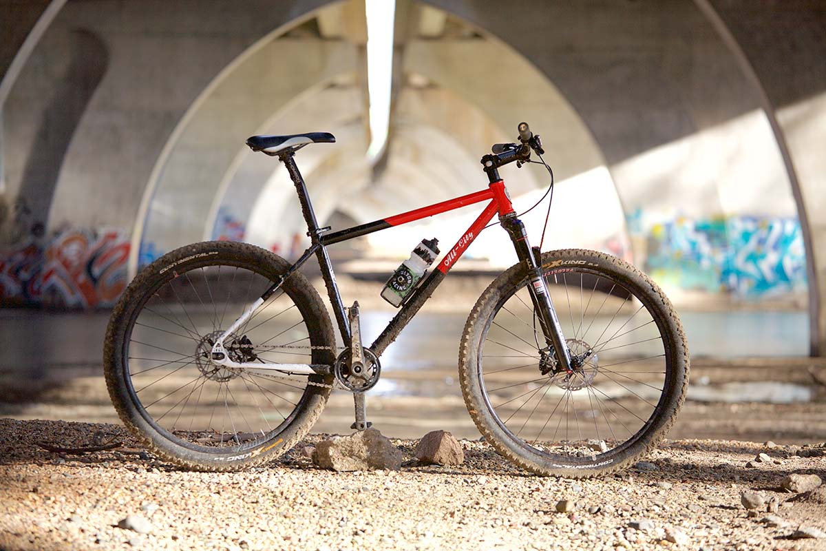 All City Gives The New 27 5 Log Lady Single Speed Mtb The Full