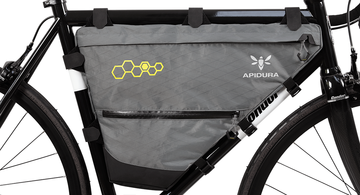 Apidura Packs More Inside The Front Triangle Plus Stem