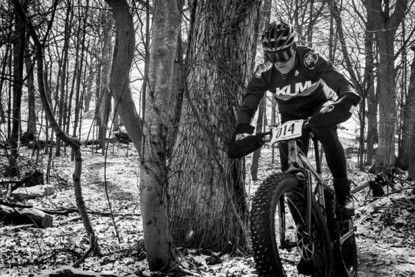bikerumor pic of the day The Arrow of Cupid Michigan State Fatbike Championships