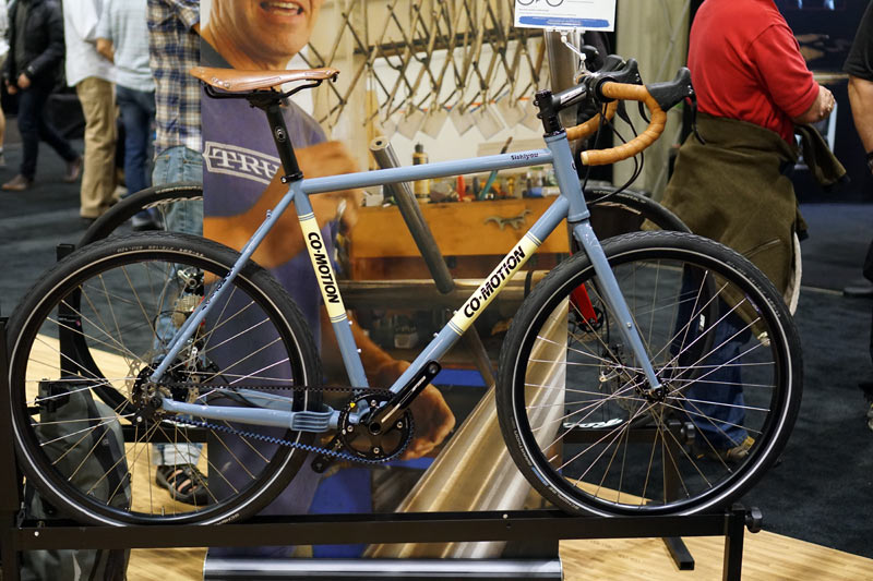 NAHBS 2016 - Co-Motion gets its internally geared gravel on, wins