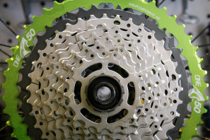 Oneup one up Shark 50t 50 tooth cassette adapter shimano xt wide range 1x-11