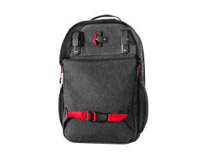 Two wheel gear, pannier backpack convertible, back