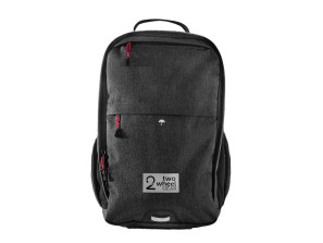 Two wheel gear, pannier backpack convertible, front