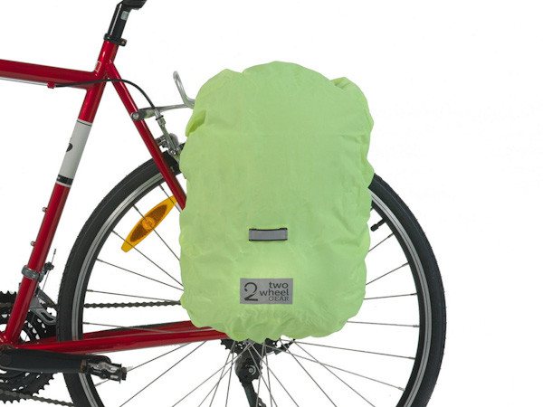 Two wheel gear, pannier backpack convertible with raincover
