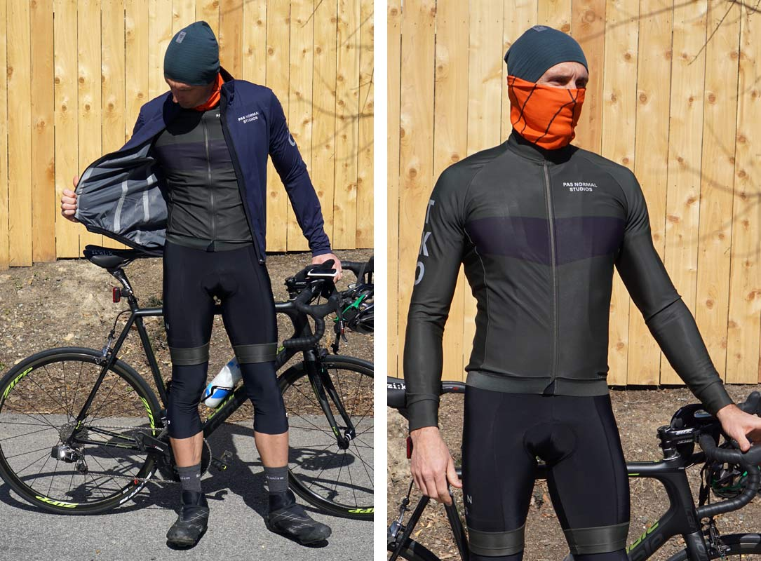 Review Pas Normal Studios Stylish Fall Winter Cycling Bibs