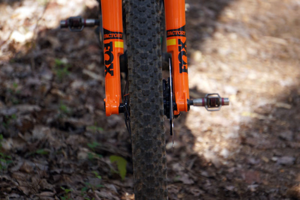 2017 Fox 32 SC step cast fork first ride review