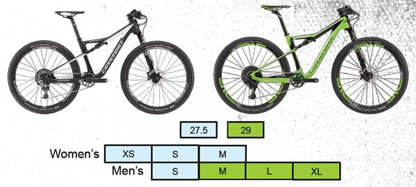 2017 Cannondale Scalpel Si Build Specs Pricing Sizing