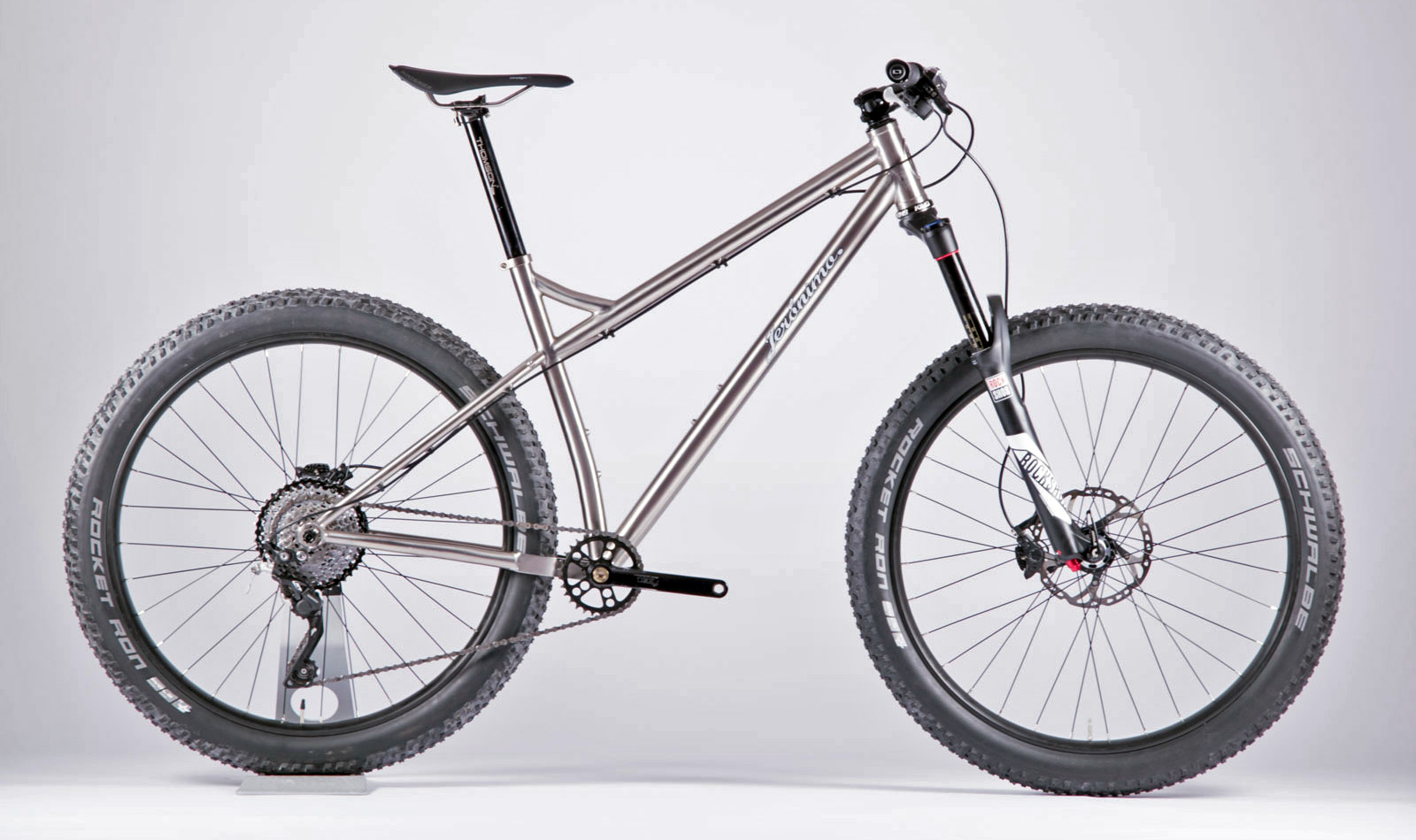 slay some singletrack with new plus sized jer nimo ti mtb. Black Bedroom Furniture Sets. Home Design Ideas